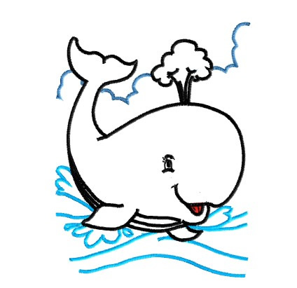 Whale outline whale embroidery design annthegran for kids jpg