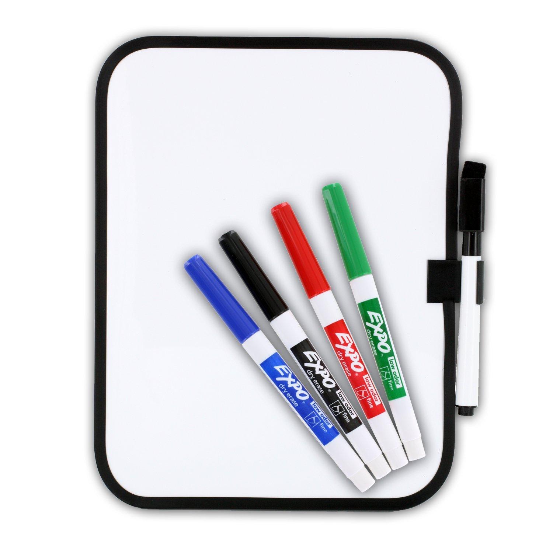 Dry erase 14 dorm locker whiteboard magnet strips and expo jpg
