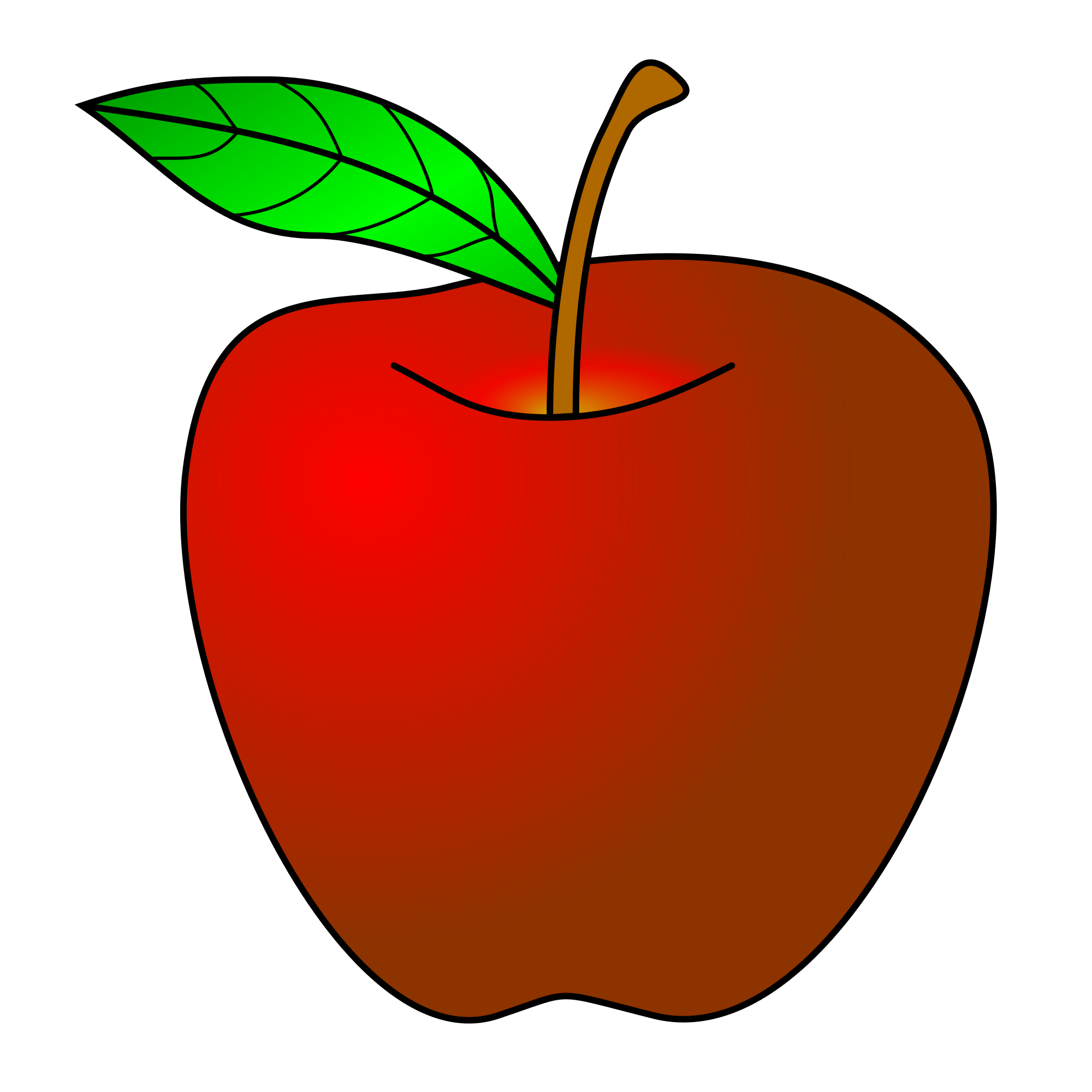 Red apple cliparts 6 shop of clipart library jpg