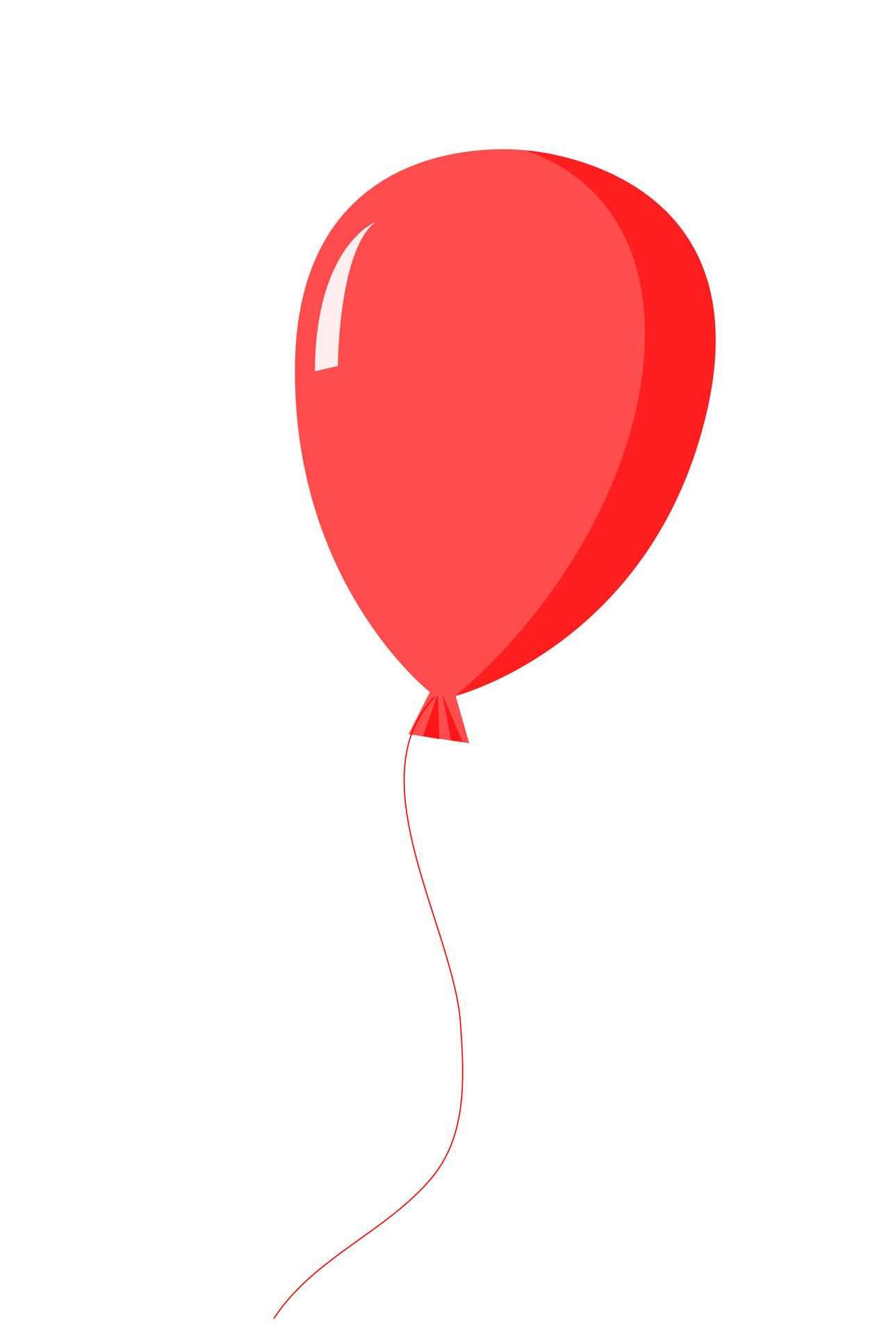 Red balloon clipart free pictures jpg