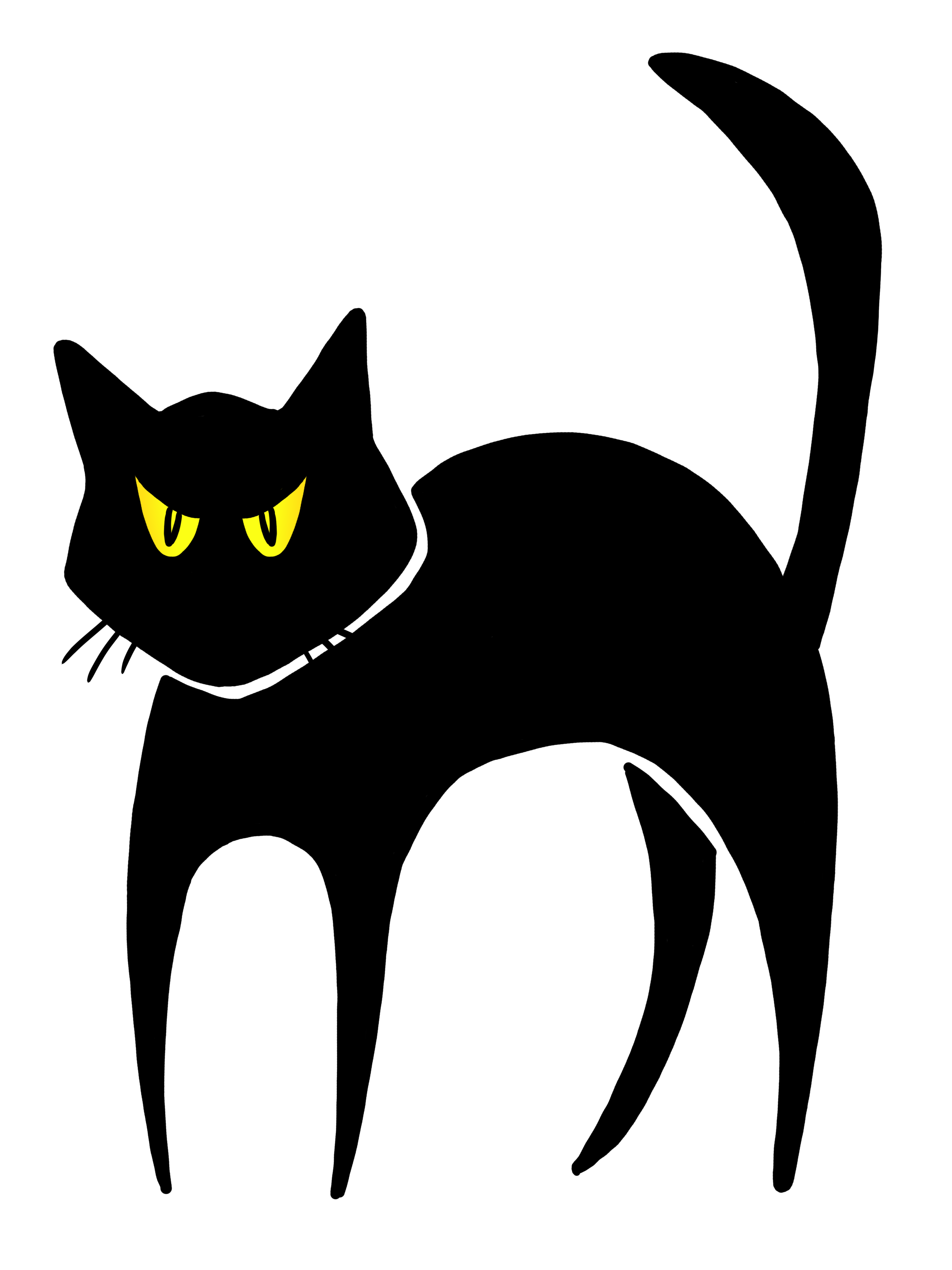 Free black cat images download clip art on png