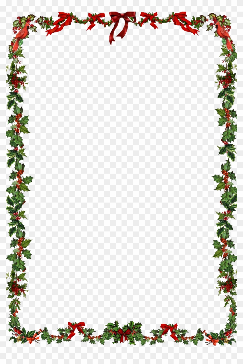 christmas border Christmas frame clipart word document border free png