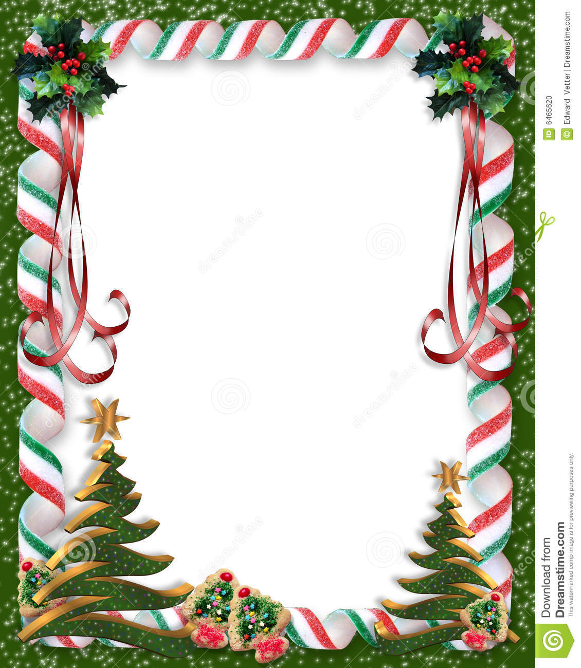 Christmas border frame candy illustration 0 megapixl jpg