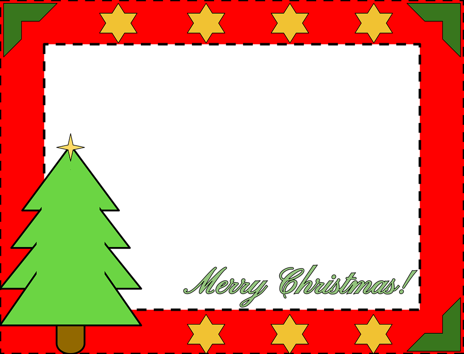 Christmas border pine free vector graphic on pixabay png