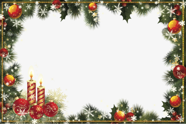 Clipart download material christmas border transparent background jpg