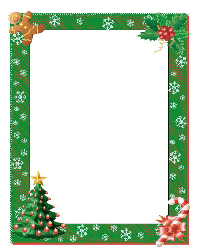 Christmas border for word borders free printable boarders jpg