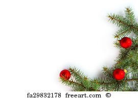 Free christmas border art prints and wall artwork freeart jpg