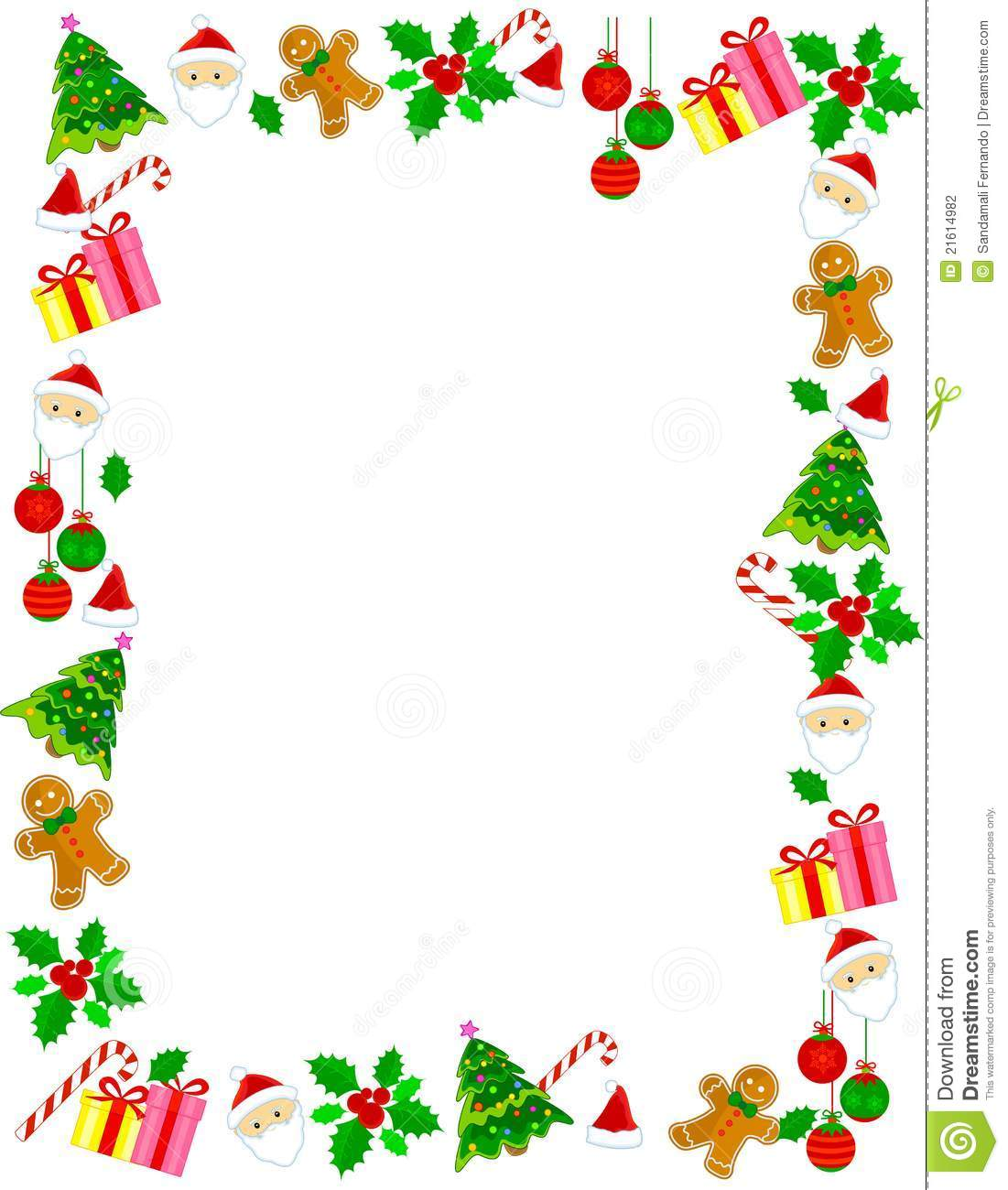 Christmas border frame illustration megapixl jpg