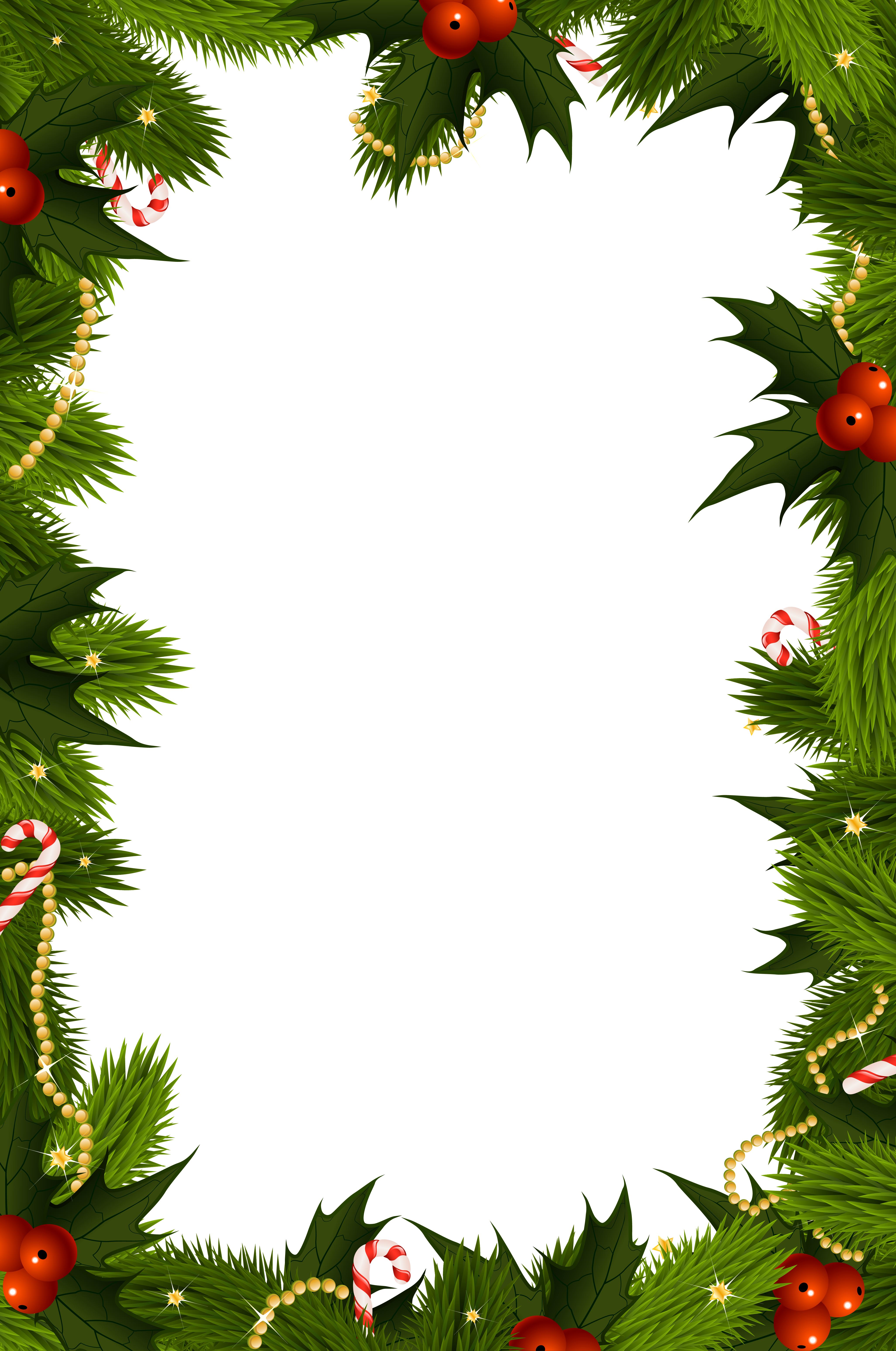 Transparent christmas border frame gallery yopriceville png