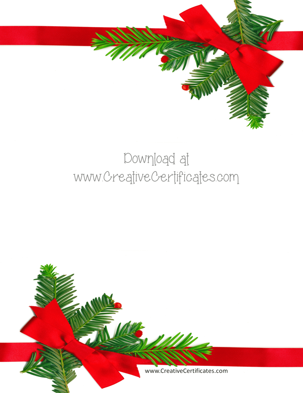 Free christmas border templates customize then download png
