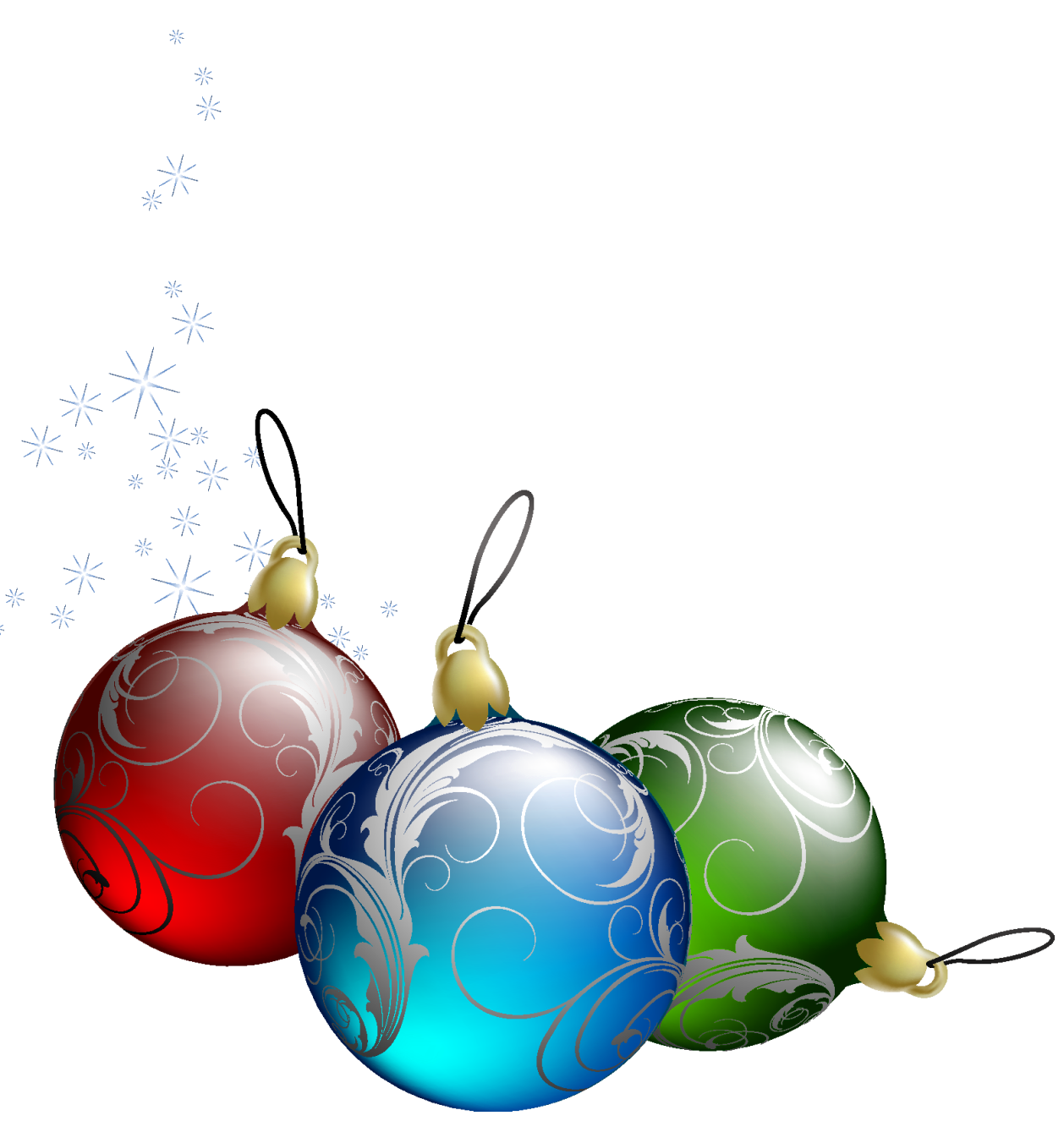 Free pictures on christmas ornaments download clip art png