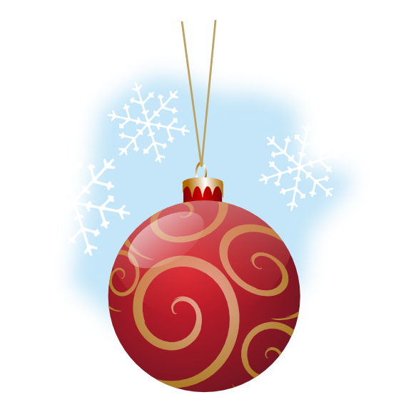Christmas ornaments clipart svg free on png
