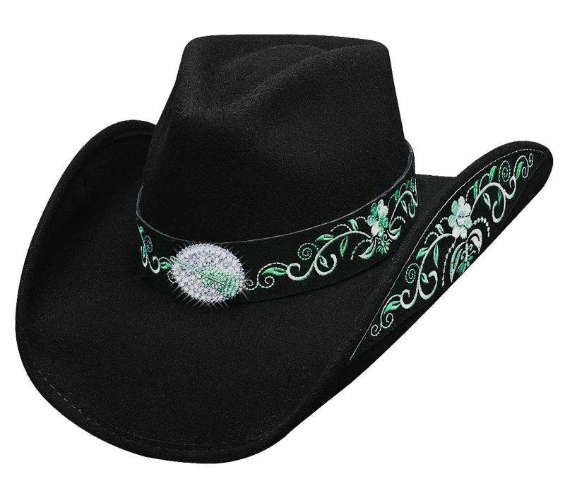 Black cowboy hat line dancing transparent image png