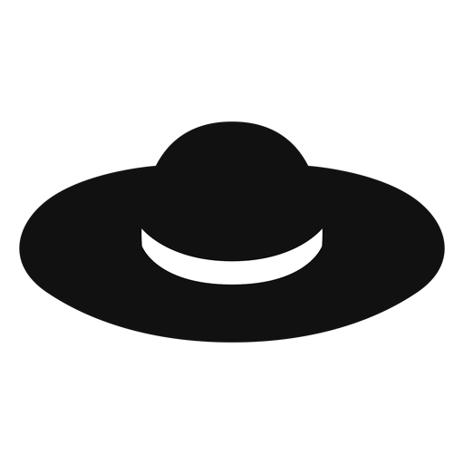 cowboy hat Floppy straw hat flat icon transparent  png