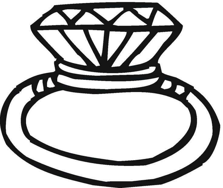 Diamond ring clipart for free download jpg