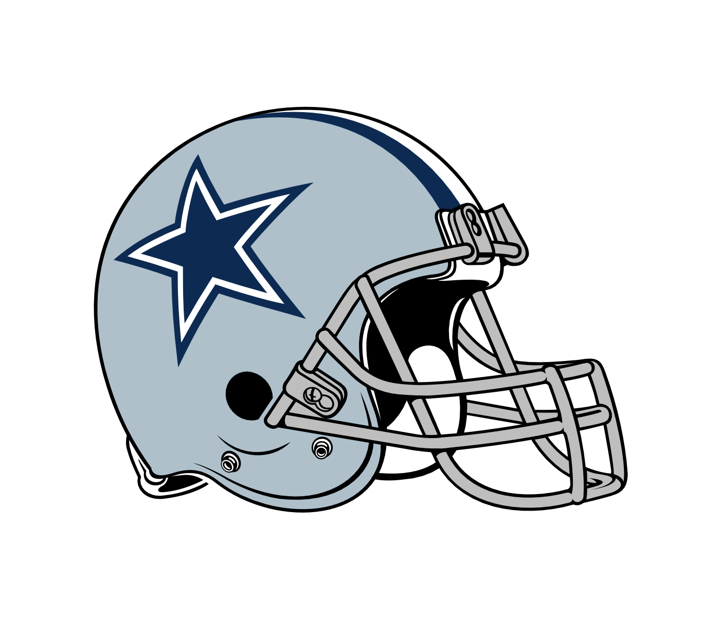 Dallas cowboys helmet clipart at free for personal png