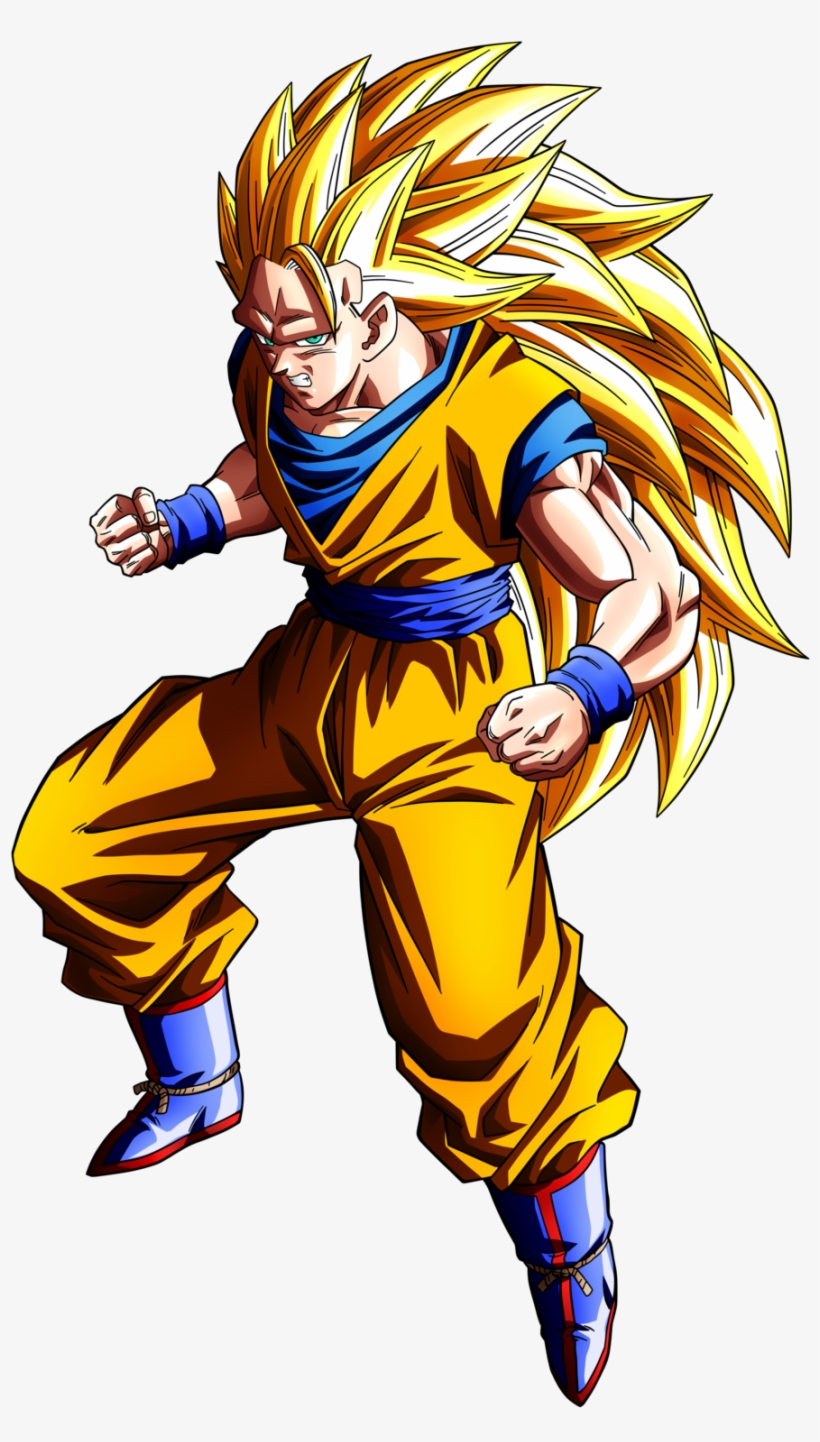 Dragon ball clipart goku ssj 3 free transparent png