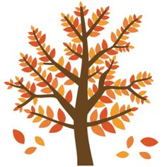 Cute fall tree clipart jpg