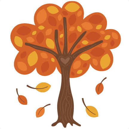 Fall tree clipart autumn stock free  png