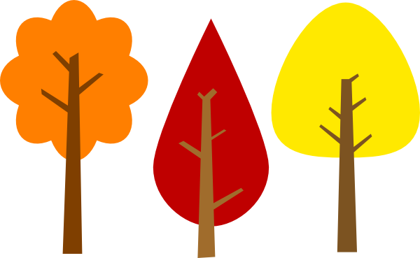 Fall trees clip art at vector clip art png 2