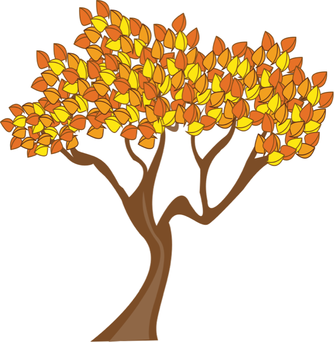 fall tree Fall and autumn clipart seasonal graphics png