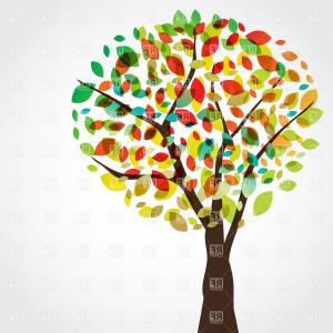 fall tree Tree autumn cartoon clip art vector soidergi jpg