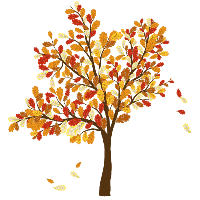 Fall tree clipart jpg