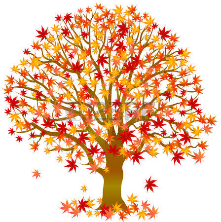 Autumn clip art crafts picture fall tree clipart woy jpg