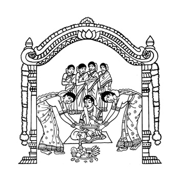 Hindu wedding clipart dc5ee0c1bf3e5e0fa clip art magic jpg