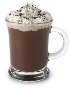 Coffee or hot chocolate with whipped cream cocktail clip art the jpg