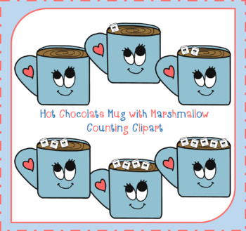 Hot chocolate clipart counting 5 five frame jpg