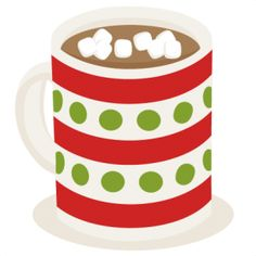 Cute hot chocolate clipart jpg