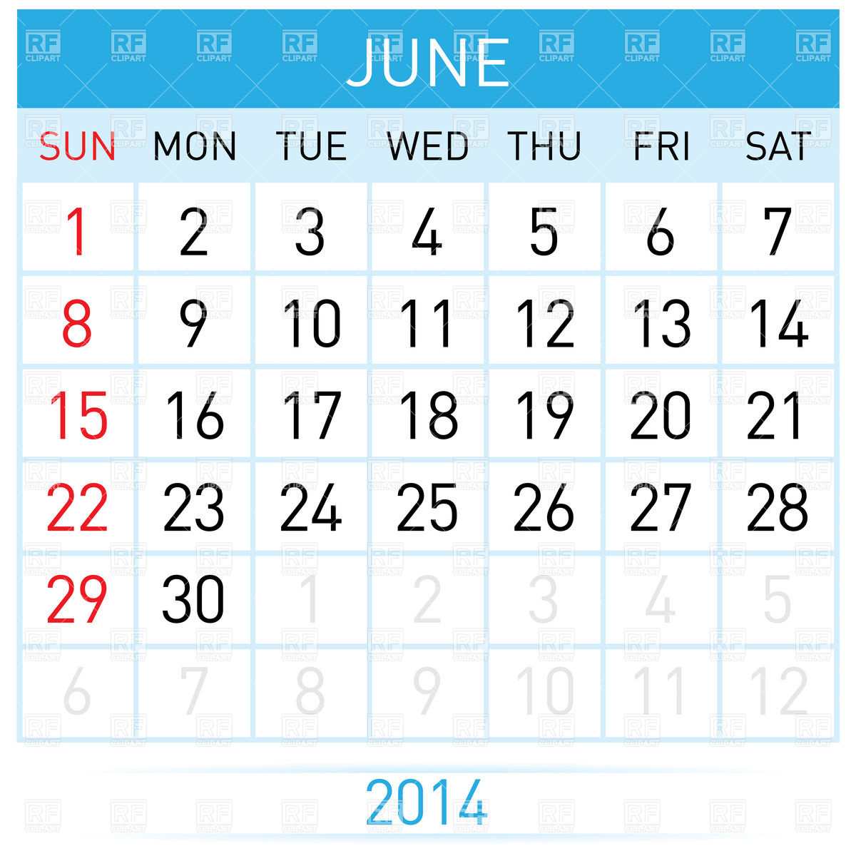 Calendar june image free rr collections jpg