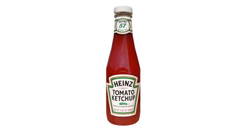 Ketchup bottle clipart with a transparent background png