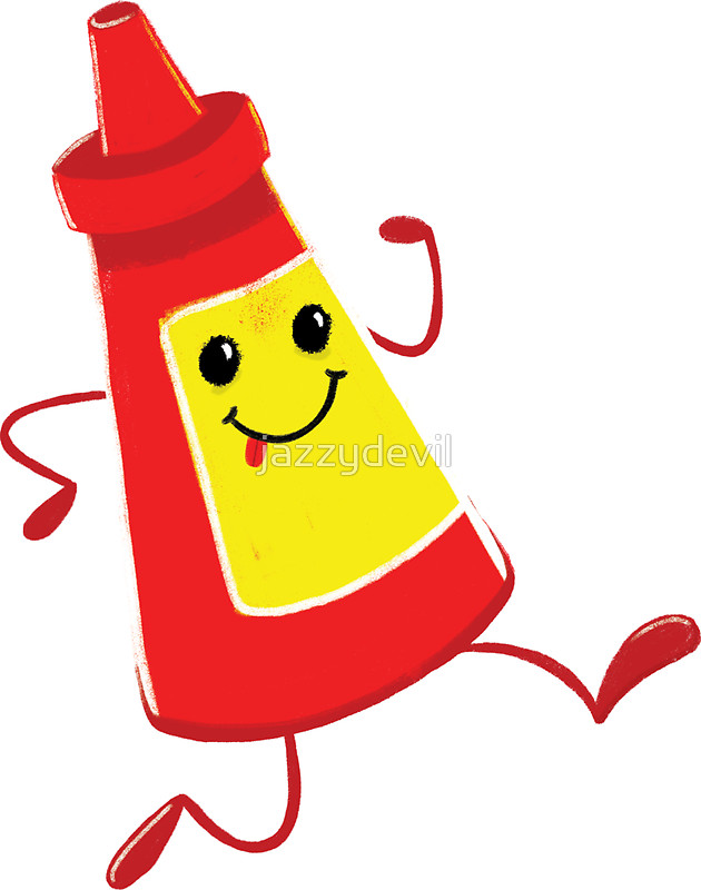 Ketchup bottle clipart 8 jpeg