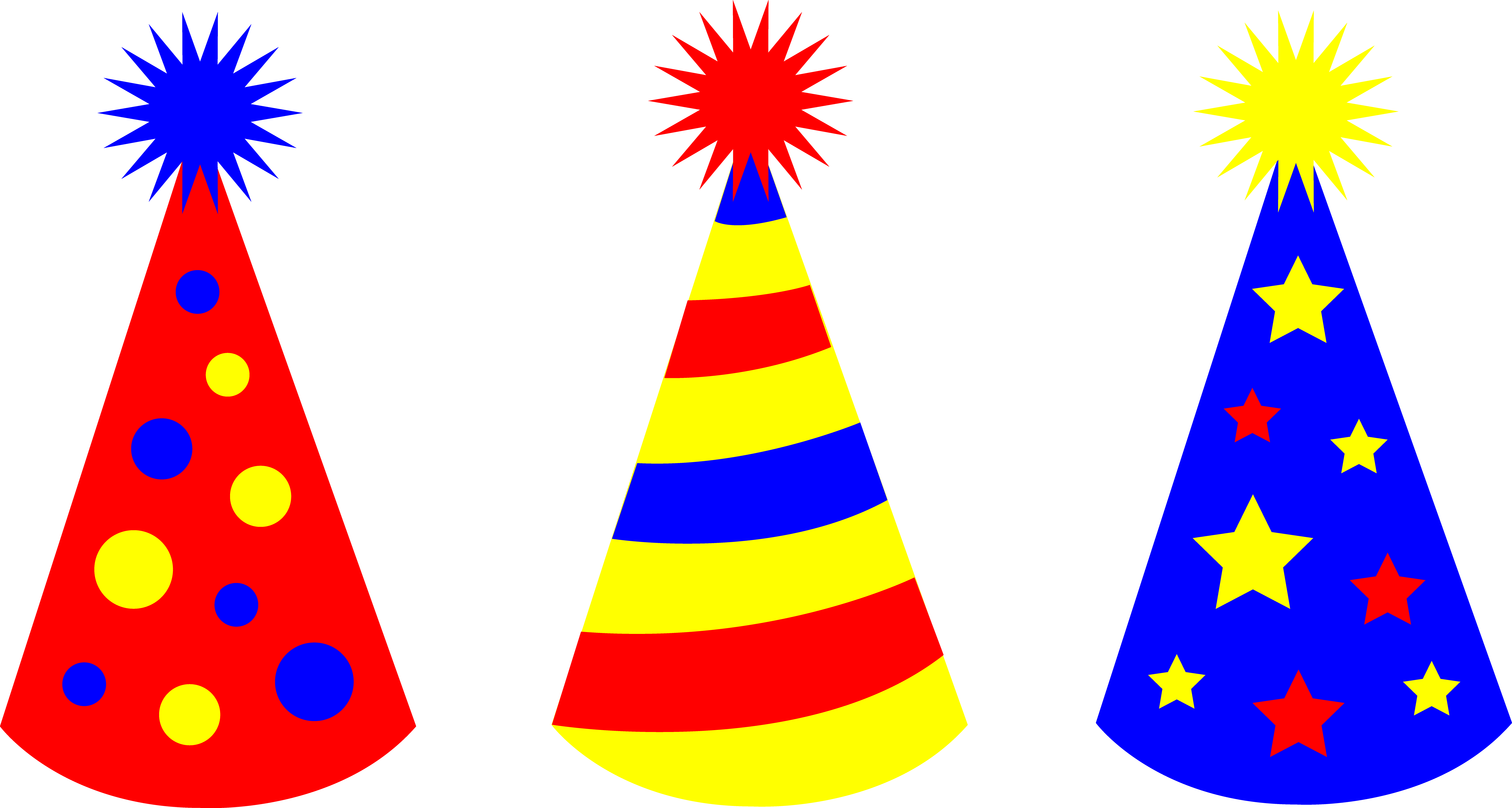 Free party hats cliparts download clip art on png 3