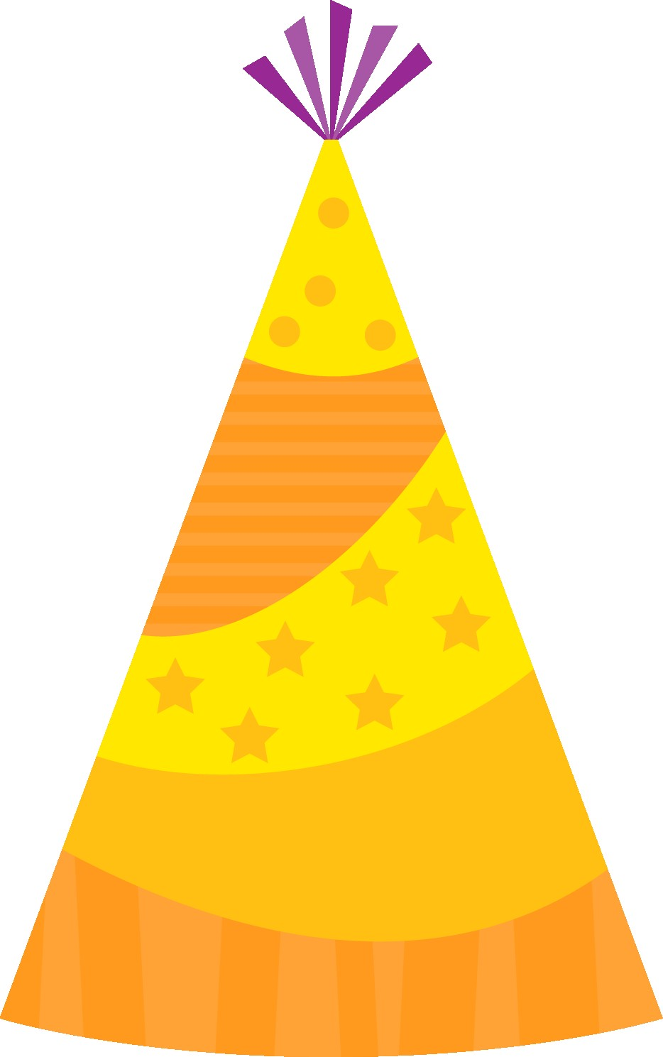 party hat Birthday hat clipart image png