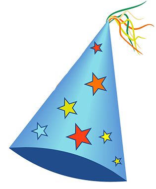 party hat Birthday hat clipart schliferaward 3 png