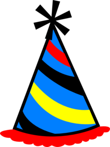 Party hat blue red  png