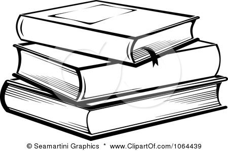 Stack of books clipart stacked clip art black jpg