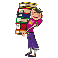 Download stack of books category clipart and icons freeclipart png
