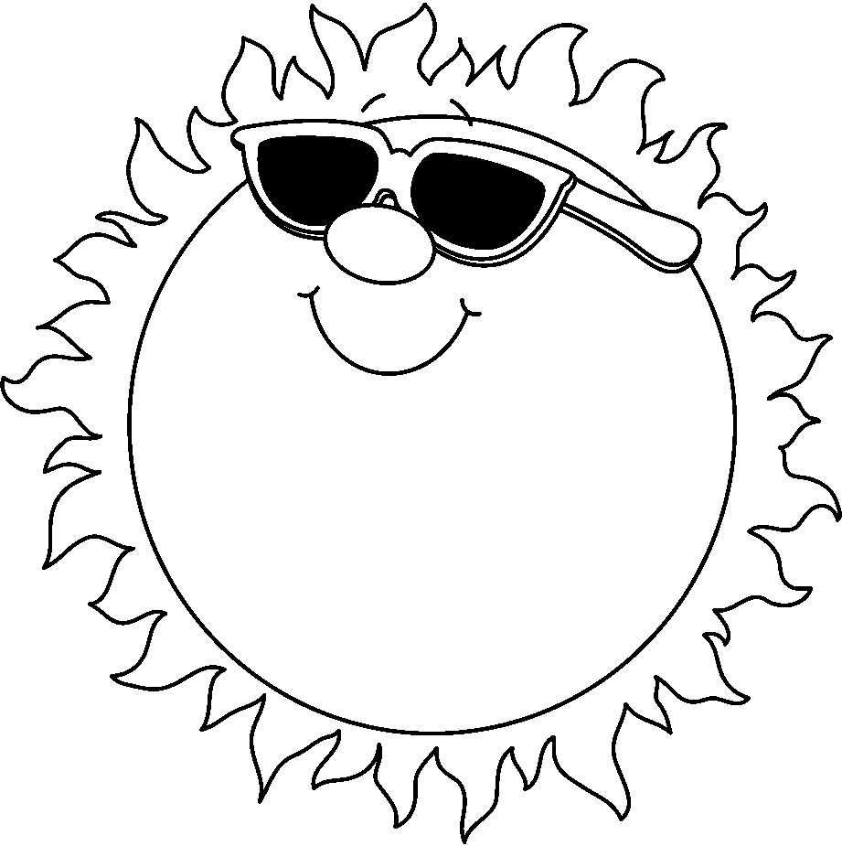 Sun clipart black and white free images jpeg