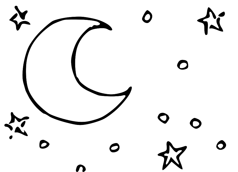 Half sun clipart black and white free download png