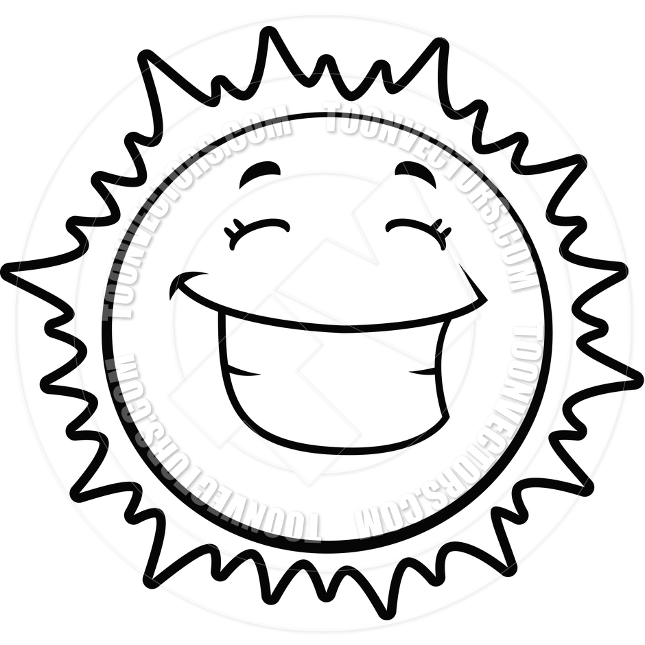 Sun clipart black and white panda free images jpg