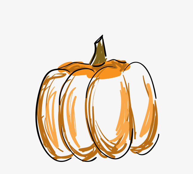 Thanksgiving pumpkin vector yellow and jpg